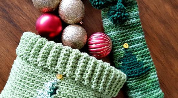 12 Weeks of Christmas CAL – Christmas Tree Basket