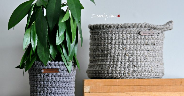 Alex Basket | Free Pattern