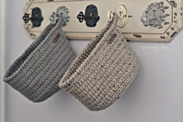 Alex Basket crochet pattern