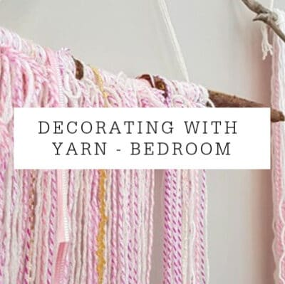 Decorating With Yarn | My Daughter's Room