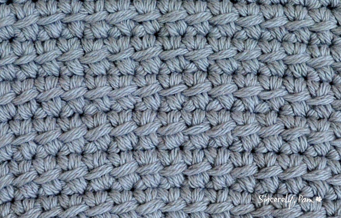 Tutorial | Linked Double Crochet