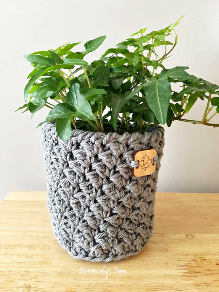julie basket crochet pattern by sincerely pam