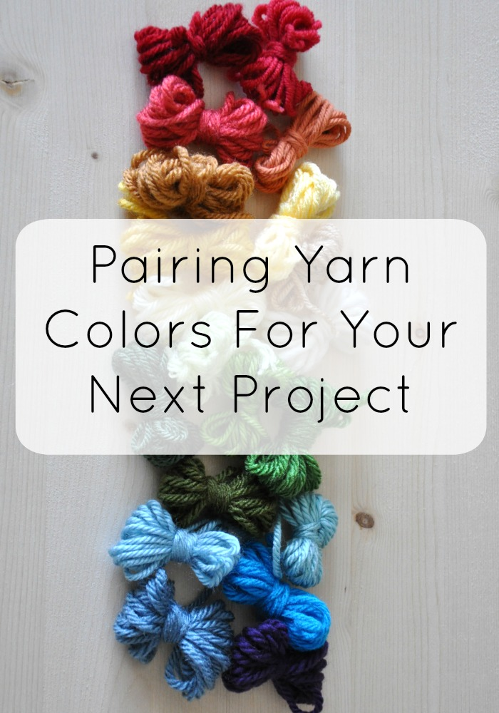 combining yarn colors for your next project