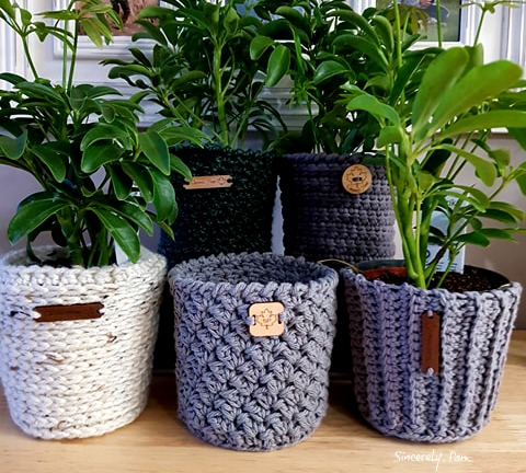 crochet basket patterns by sincerely pam
