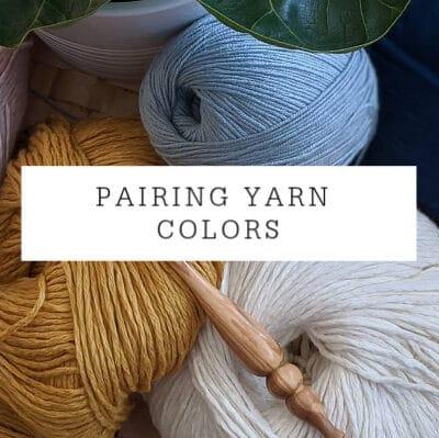 Combining Yarn Colors Tutorial