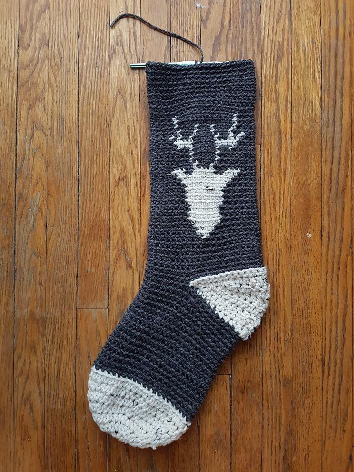 Reindeer Stocking Part 3