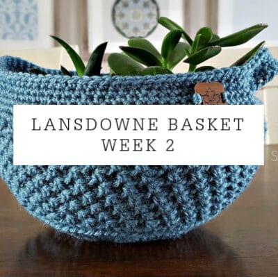 Lansdowne Basket Crochet Pattern Part 2