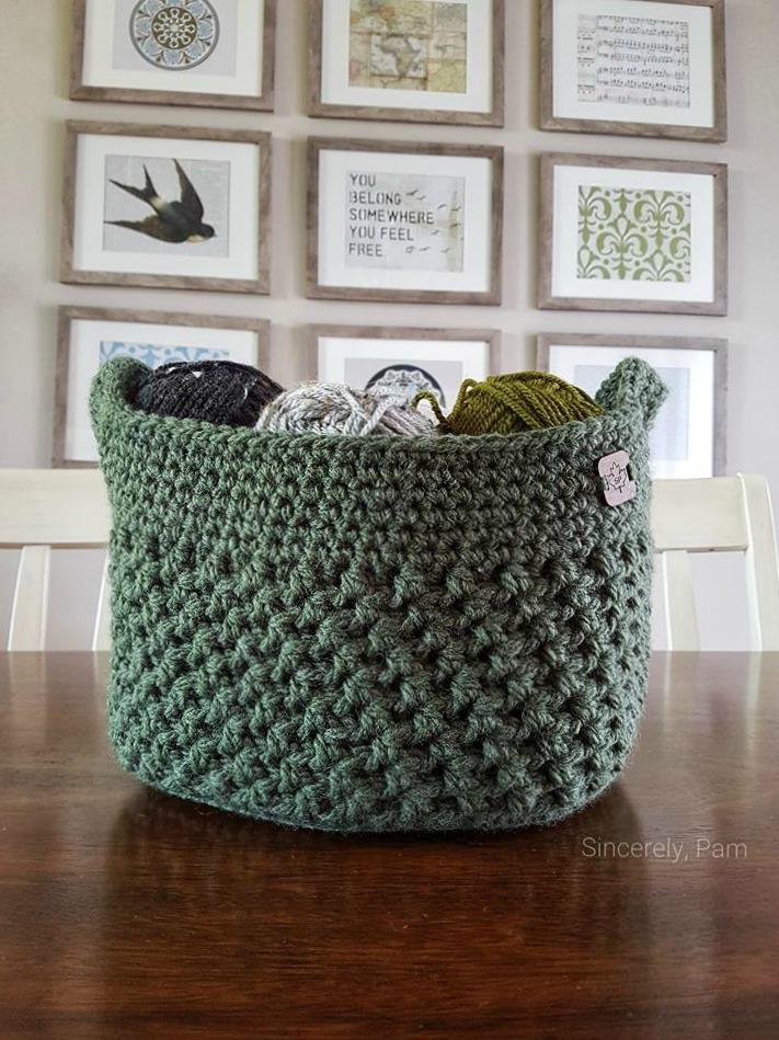 Lansdowne Basket Crochet Pattern