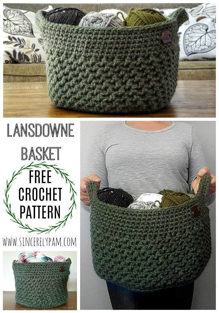 Pin It! Lansdowne Basket