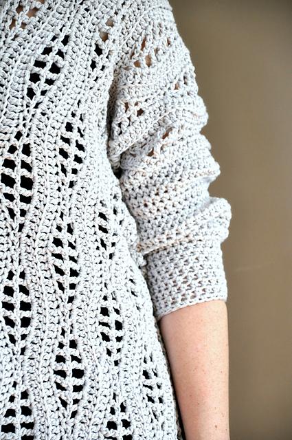 Salena Sweater crochet pattern