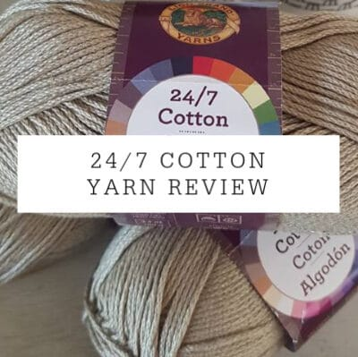 Lion Brand Yarn 24/7 | Yarn Review