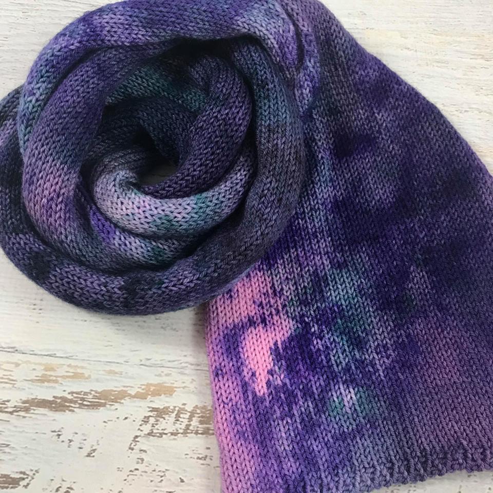 Purple Grunge Yarn by Yarn Baby LLC