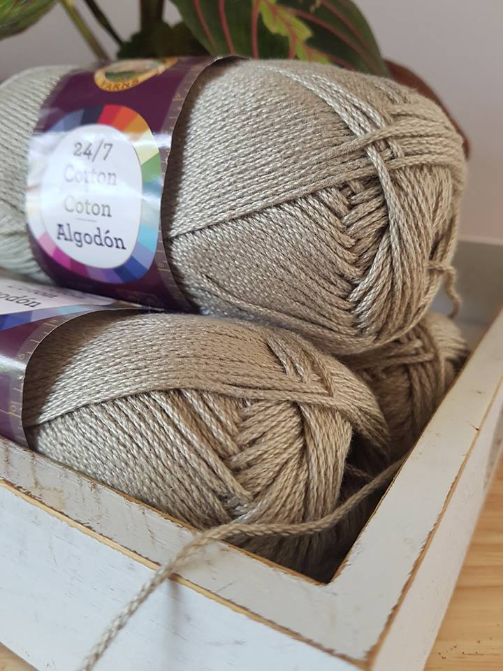 Lion Brand 24/7 yarn review by Sincerely, Pam