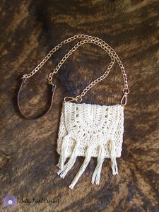 Bonnaroo Boho Crochet Bag Pattern by Salty Pearl Crochet