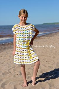 Sunny Days Beach Cover Up by A Crocheted Simplicity