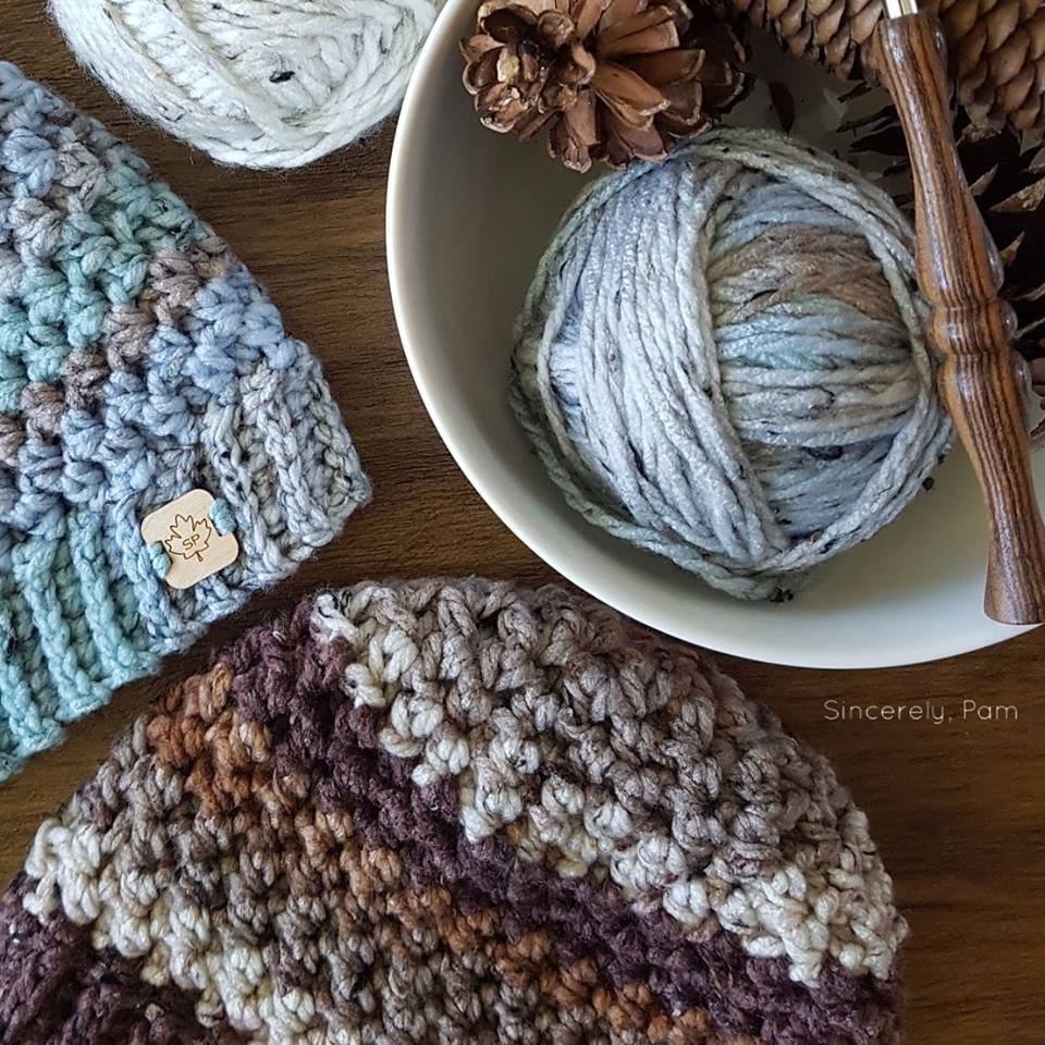 Lansdowne Toque, free crochet pattern by Sincerely, Pam