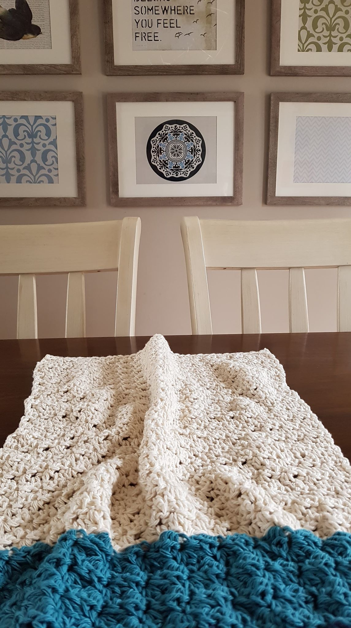 tea towel crochet pattern by Sincerely Pam