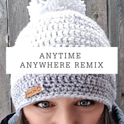 Anywhere Anytime Hat Remix | Free Pattern