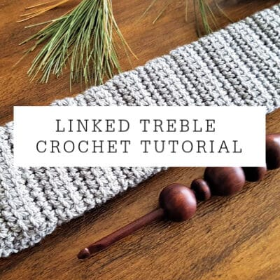 Linked Treble Crochet | Tutorial