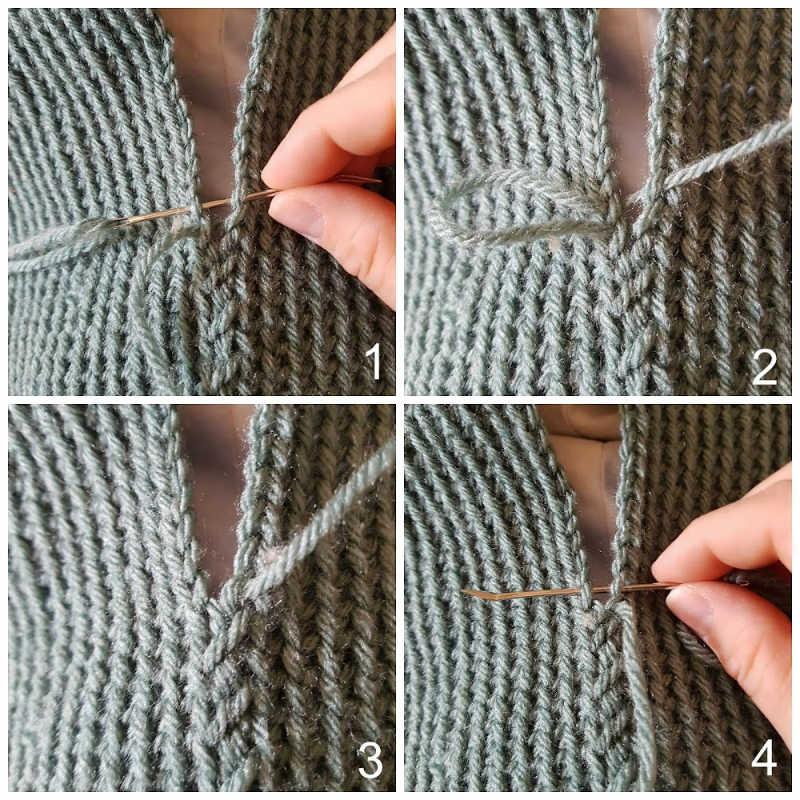 basting stitch photo tutorial