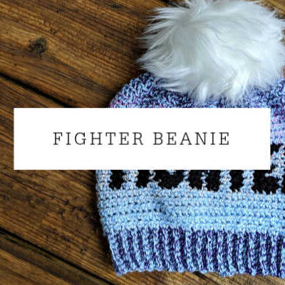 Fighter Beanie Crochet Pattern