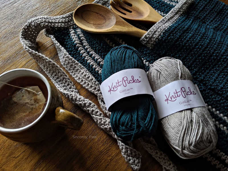 knit picks cotlin in whisker and shoal