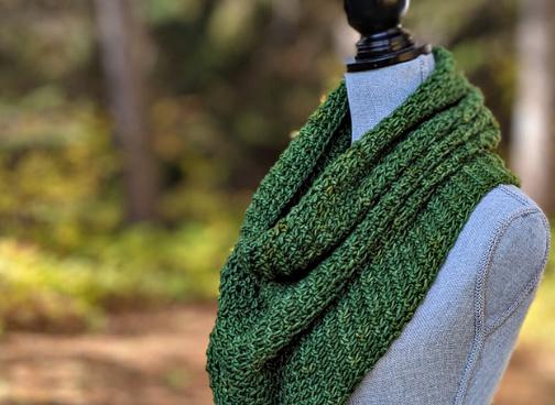 lansdowne cowl free crochet pattern