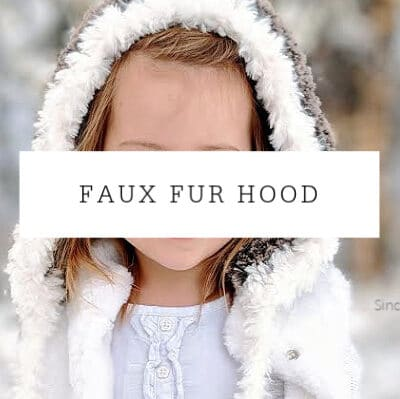 Faux Fur Hood Crochet Pattern