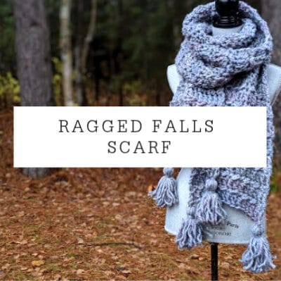 Ragged Falls Scarf | Free Crochet Pattern
