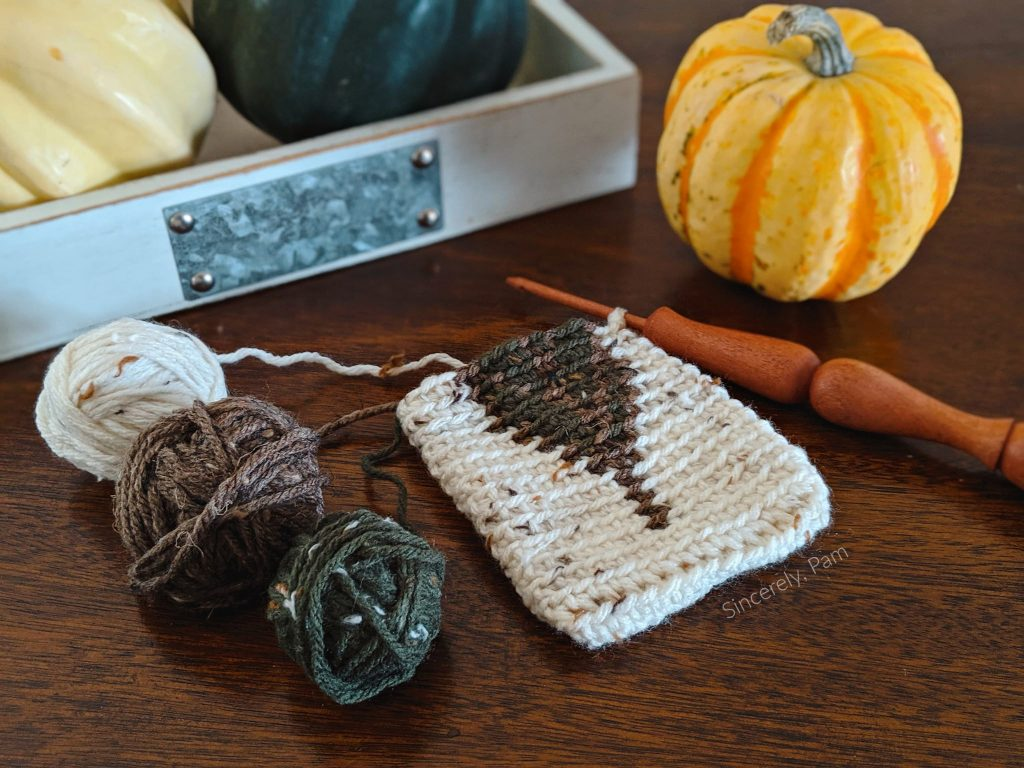 autumn leaf cutlery pouch by sincerely, pam
