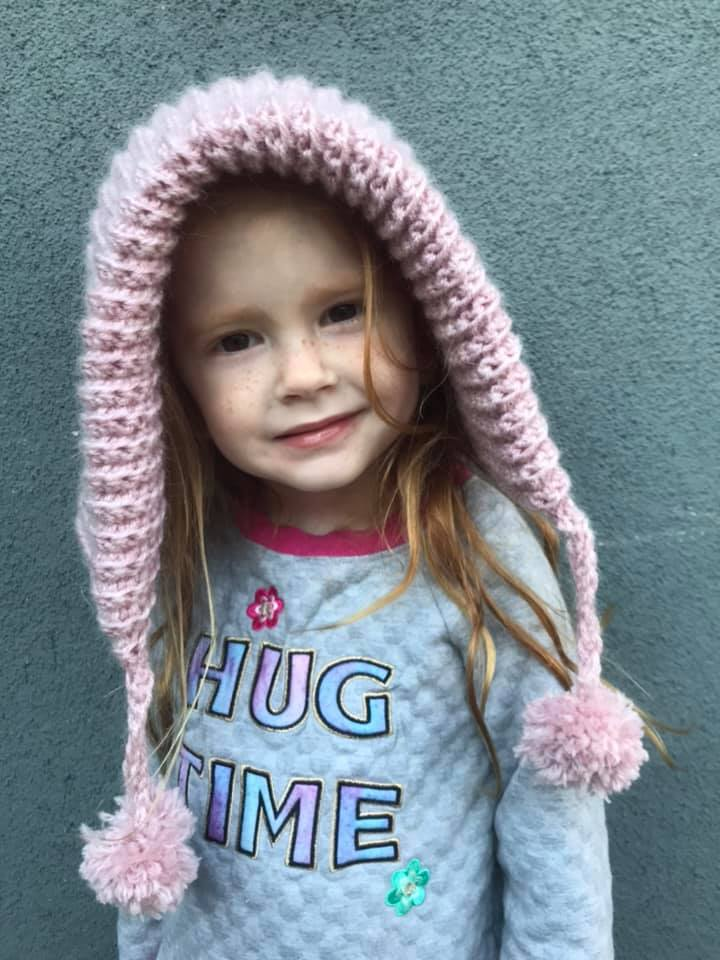 Ever After Hood tested by Mama Mae Crochet