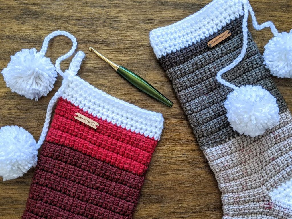 Alex Christmas Stocking free crochet pattern