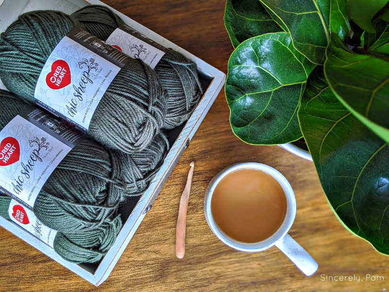 chic sheep yarn by marly bird for red heart yarns and yarnspirations