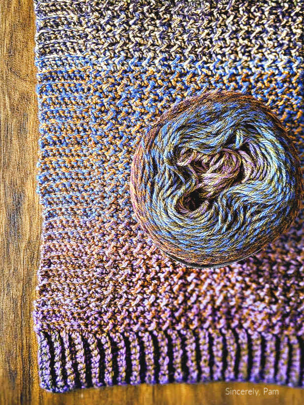Lion Brand Mandala Tweed yarn review