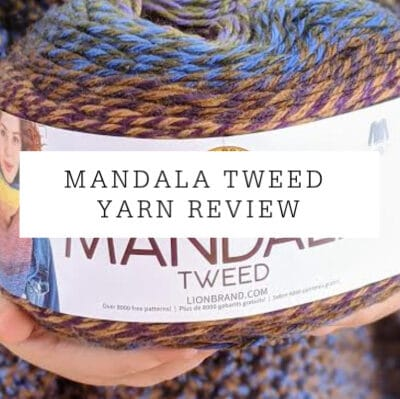 Lion Brand Mandala Tweed | Yarn Review