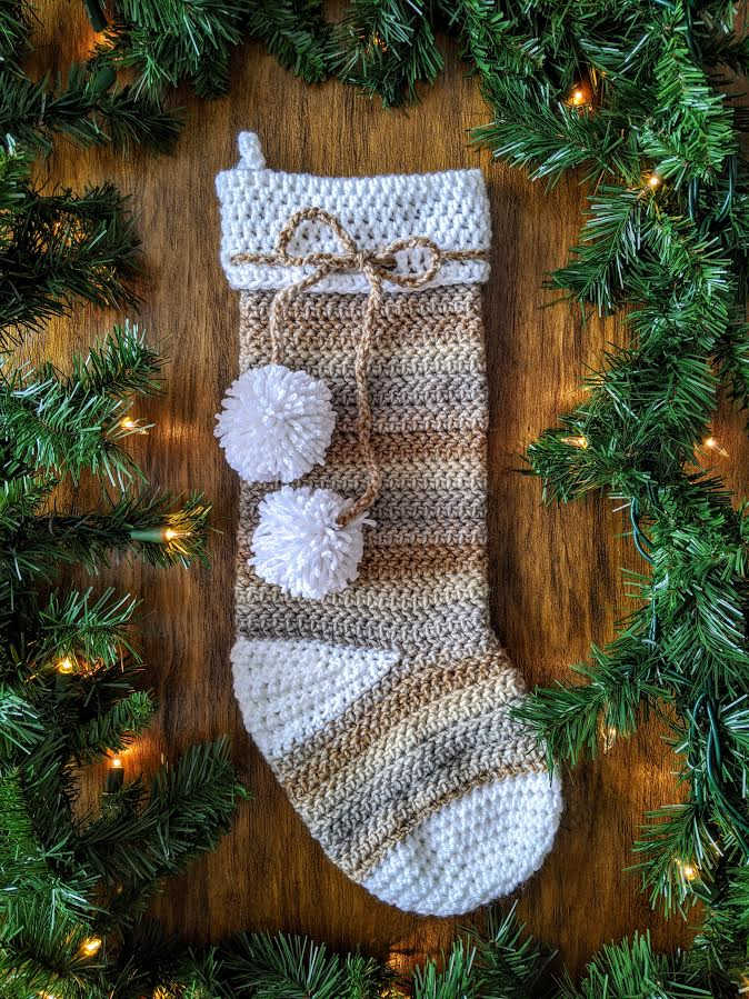 Steff Stocking crochet pattern by Sincerely Pam