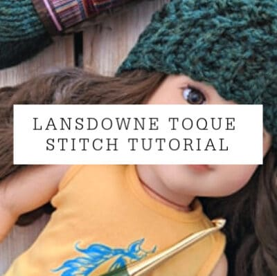 Lansdowne Toque Stitch Tutorial