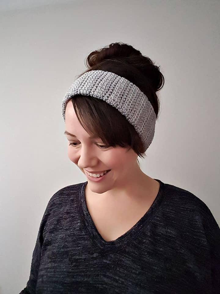 Alex Earwarmer Crochet Pattern by Sincerely Pam