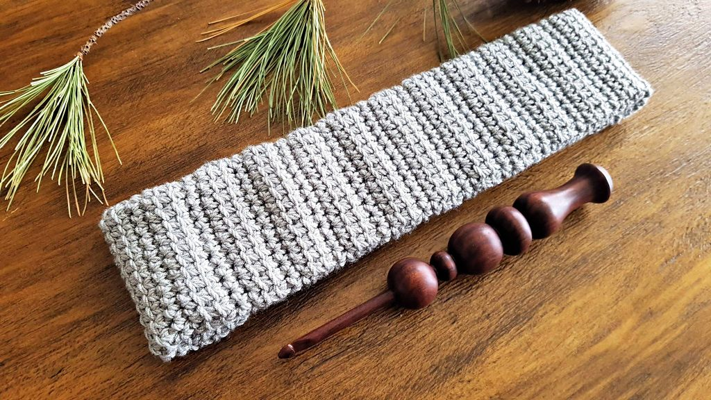 Alex Earwarmer Crochet Pattern by Sincerely Pam