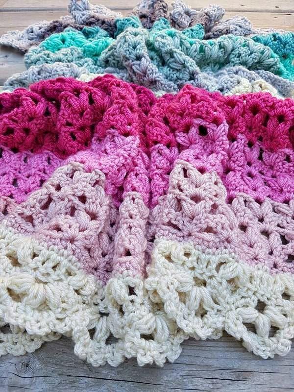 Victoria Afghan crochet pattern