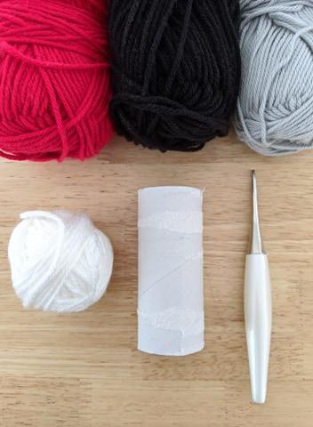 spaceship crochet pattern materials