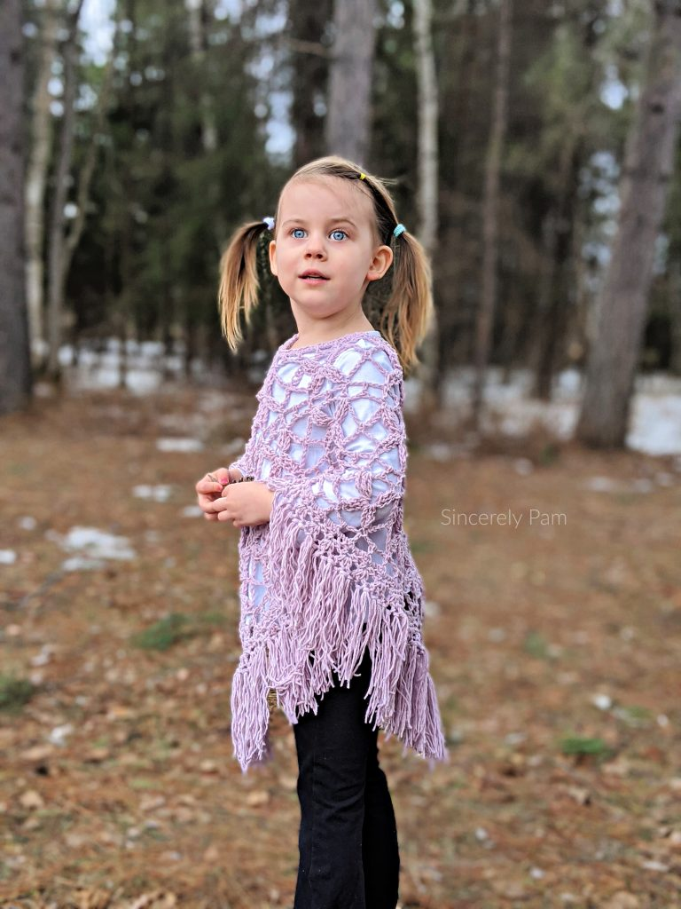 butterfly breeze free crochet poncho pattern by sincerely pam