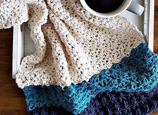 my favorite tea towel crochet pattern by sincerely pam