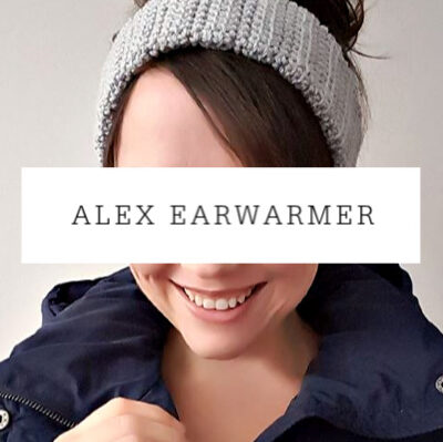 Alex Earwarmer Crochet Pattern