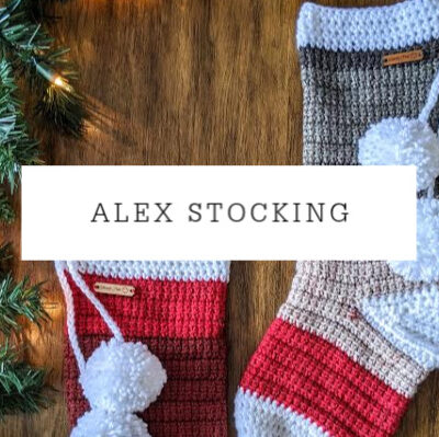 Alex Stocking | Free Crochet Pattern