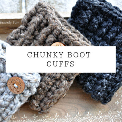 Chunky Boot Cuffs | Free Pattern