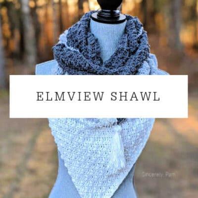 Elmview Shawl Crochet Pattern