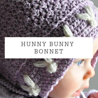 Hunny Bunny Bonnet | Free Pattern
