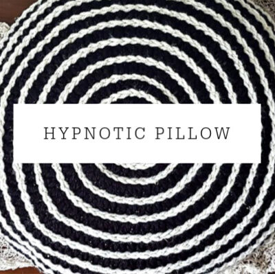 Hypnotic Pillow | Free Pattern