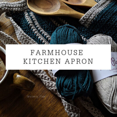 Farmhouse Apron Crochet Pattern